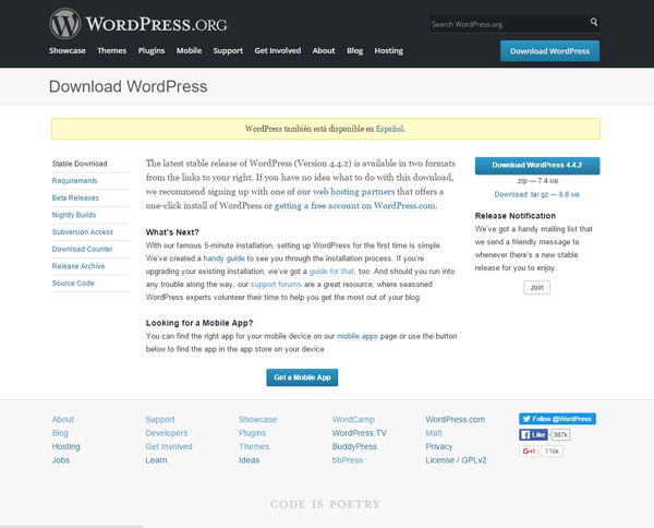 WordPress.org - setting up local wordpress development environment